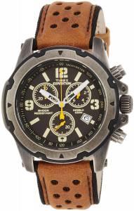 [タイメックス]Timex TW4B01500 Expedition Analog Shock Brown Chrono Timex® Expedition® Sierra