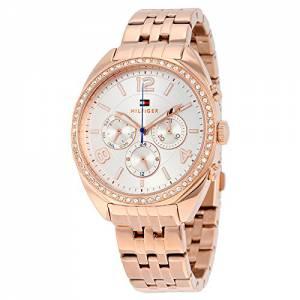 [トミー ヒルフィガー]Tommy Hilfiger 腕時計 Rose GoldTone Watch Silver Dial 1781572