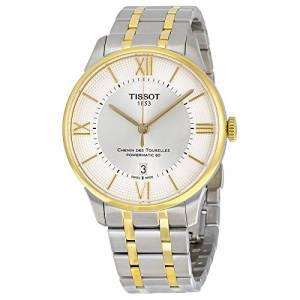 [ティソ]Tissot Chemin Des Tourelles Automatic Silver Dial with TwoTone T099.407.22.038.00