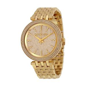 [マイケル・コース]Michael Kors  Darci Analog Display Analog Quartz Gold Watch MK3438