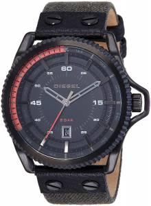 [ディーゼル]Diesel  Rollcage Analog Display Analog Quartz Black Watch DZ1728 メンズ