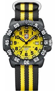 [ルミノックス]Luminox  Scott Cassell Yellow Dial Carbon Reinforced Case Watch 3955.SET