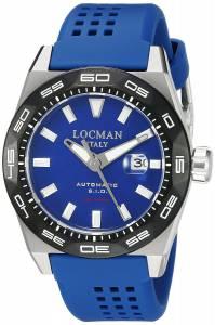 [ロックマン]Locman Stealth 300 Metri Analog Display Automatic Self Wind Blue 0215V3-0KBLNKS2B