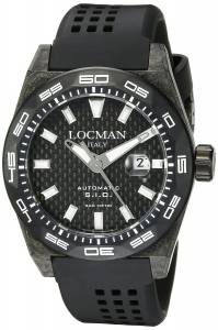 [ロックマン]Locman Stealth 300 Metri Analog Display Automatic Self Wind Black 0216V5-CBCBNKWS2K