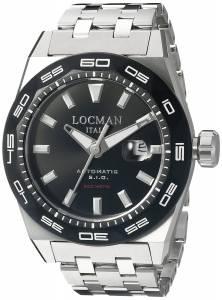 [ロックマン]Locman Stealth 300 Metri Analog Display Automatic Self Wind 0215V1-0KBKNKSBR0