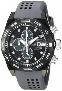[ロックマン]Locman  Stealth 300 Metri Analog Display Quartz Grey Watch 0217V3-GKGYNKS2A