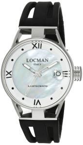 [ロックマン]Locman  Montecristo Lady Analog Display Quartz Black Watch 0521V02-00MA00SK