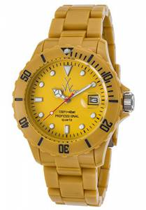 [トイウォッチ]Toy Watch ToyWatch Fluo Time Only Watch FL39DY All Mustard TOYWATCH-FL39DY