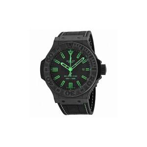 [ウブロ]Hublot  Big Bang All Black Green Watch 322CI1190GRABG11 322.CI.1190.GR.ABG11 メンズ