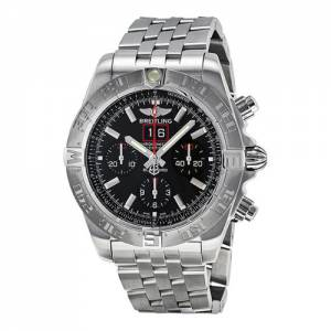 [ブライトリング]Breitling Chronomat Blackbird Analog Display Swiss BTA4436010-BB71SS
