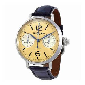 [ベルアンドロス]Bell & Ross  Bell and Ross Monopusher Chronograph Watch BRWW1-MONO-IVO
