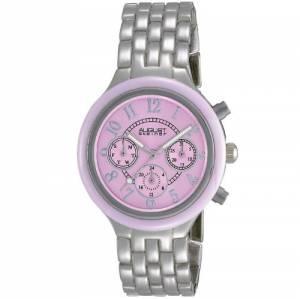 [オーガストシュタイナー]August Steiner 腕時計 Silvertone Multifunction Watch AS8039PK