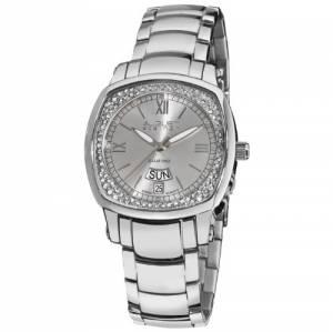[オーガストシュタイナー]August Steiner 腕時計 Silvertone Steel Watch AS8016SS
