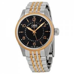 [オリス]Oris  Big Crown Automatic Black Dial Twotone Stainless Steel Watch 754-7679-4364MB