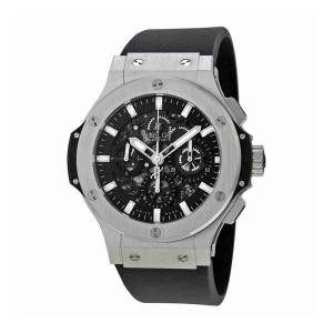 [ウブロ]Hublot  Big Bang Aero Bang Steel Black Dial Automatic Watch 311.SX.1170.RX メンズ