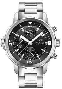 [アイダブルシー]IWC 腕時計 Aqua timer Chronograph Black Watch IW376804 メンズ