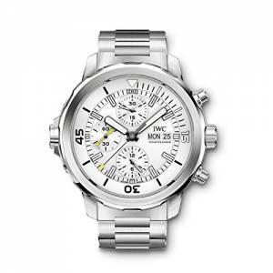 [アイダブルシー]IWC  Aquatimer Chronograph Silver Dial Stainless Steel Watch IW376802