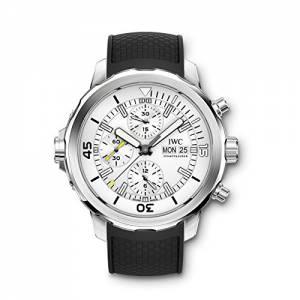 [アイダブルシー]IWC 腕時計 Aquatimer Chronograph Silver Dial Watch IW376801 メンズ