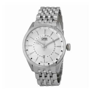 [オリス]Oris  Artix Pointer Moon Automatic Silver Dial Brown Leather Watch 761-7691-4051MB
