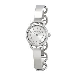 [コーチ]Coach 腕時計 Dree Silver Tone Half Bangle Watch 14502113 レディース