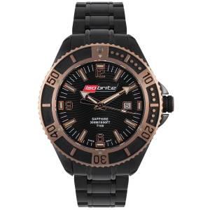 [アーマーライト]Armourlite  Isobrite Black Stainless Steel Master Diver Series Watch ISO502