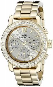 [コーチ]Coach  Legacy Sport 36mm Bracelet Watch Silver/Gold Plated Watch 14502370