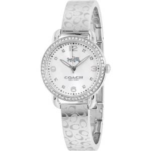 [コーチ]Coach 腕時計 Delancey Signature Stainless Bangle Glitz Watch 14502353 レディース