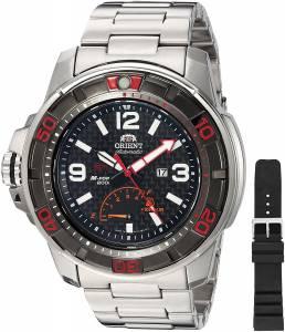 [オリエント]Orient MForce Beast STI Analog Display Japanese Automatic Silver Watch SEL06002B0
