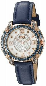 [バージ]Burgi  Rose Gold Quartz Watch With Diamond Mother of Pearl Swarovski Crystal BUR156BU