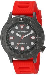 [フリースタイル]Freestyle  Dive Analog Display Japanese Quartz Red Watch 10024398 メンズ
