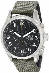 オリス Oris Men's 77476994134LS Big Crown Analog Display Swiss Automatic Black Watch