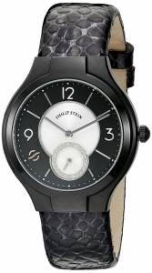[フィリップ ステイン]Philip Stein Round Analog Display Japanese Quartz Black 41B-DMBW-CHGR