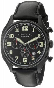 [ステューリングオリジナル]Stuhrling Original Monaco Analog Display Quartz Black 584.02