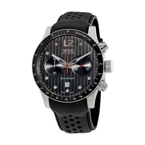 [ミドー]Mido  Multifort Chronograph Leather Strap Automatic Watch M0256271606100 メンズ