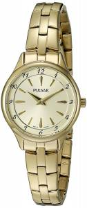 [パルサー]Pulsar 腕時計 'Dress Sport' Quartz GoldToned Dress Watch PM2224 レディース