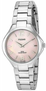 [パルサー]Pulsar  'Dress Sport' Quartz Stainless Steel Dress Watch PM2215 レディース