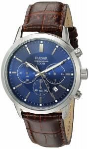 [パルサー]Pulsar 腕時計 Quartz Brown Leather Dress Watch PT3789X メンズ [並行輸入品]