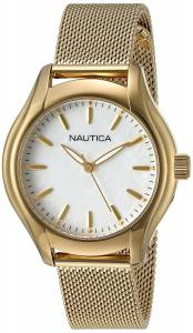 [ノーティカ]Nautica 'NCT 18 MID' Quartz Stainless Steel Casual Watch, NAD12546L
