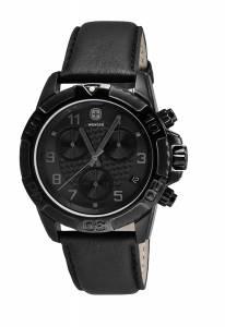 [ウェンガー]Wenger 腕時計 Swiss Army Military Zurich Blackout Watch 79265 [並行輸入品]