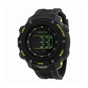 [ノーティカ]Nautica 腕時計 NMX 15 Black Dial Digital Watch NAI19523G メンズ