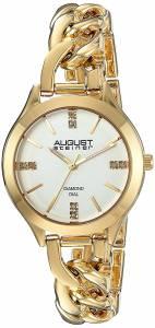 [オーガストシュタイナー]August Steiner  Genuine Diamond GoldTone Case with AS8222YG
