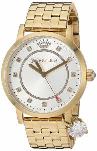 [ジューシークチュール]Juicy Couture  'Socialite' Quartz Tone and Gold Plated 1901475