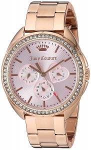 [ジューシークチュール]Juicy Couture  'Capri' Quartz Gold Quartz Watch 1901480