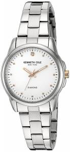 Kenneth Cole 10026478 Women's Stainless Steel Silver Bracelet Band Silver Dia... (parallel imports)
