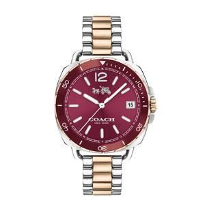 [コーチ]Coach  Tatum 34mm Bracelet with Aluminum Bezel TwoTone/Carnation Watch 14502640