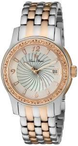 [ルシアン ピカール]Lucien Piccard 'Merrel' Quartz Stainless Steel Watch, LP-40029-SR-22-MOP