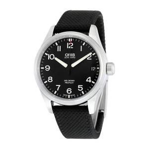 [オリス]Oris  Big Crown ProPilot Date Automatic Black Dial Black Fabric Watch 751-7697-4164BKFS