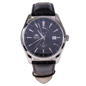 [オリエント]Orient 腕時計 Polaris GMT Power Reserve Sapphire Watch Black DJ05002B SDJ05002B