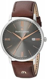 [モーリス ラクロア]Maurice Lacroix 'Eliros' Quartz Stainless Steel and EL1118-SS001-311-1