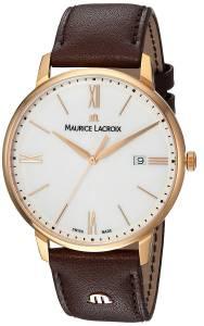 [モーリス ラクロア]Maurice Lacroix 'Eliros' Swiss Quartz GoldTone and EL1118-PVP01-112-1